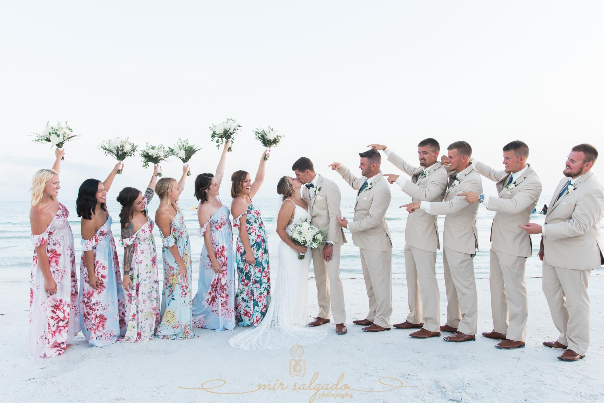 Bridal-party-photo, Sarasota-wedding-photographer