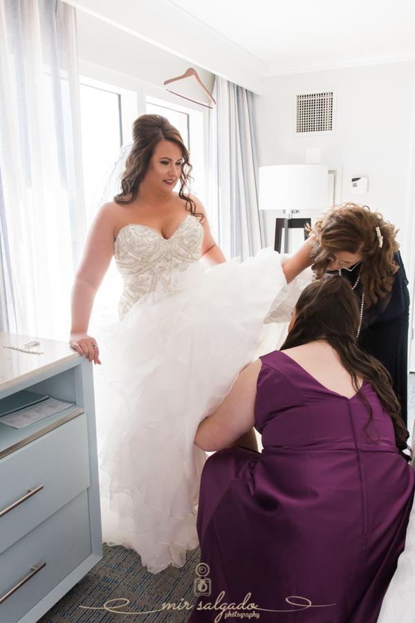 wedding-dress-dressing, final-touches