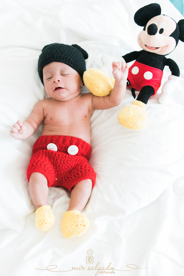 mickey-mouse-hat, mickey-mouse-outfit, mickey-mouse-stuffed-animal, disney-theme-photo-shoot