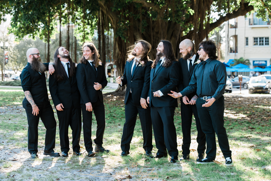 St.Pete-photographer, St.Pete-wedding-photographer, Groom-and-groomsmen-photo