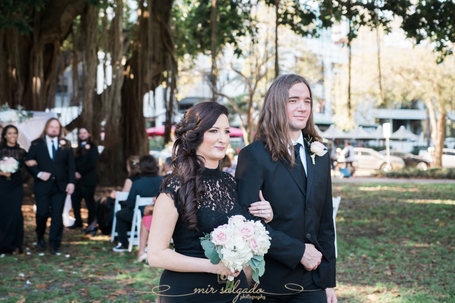 bridal-party-photo, St.Pete-wedding-ceremony