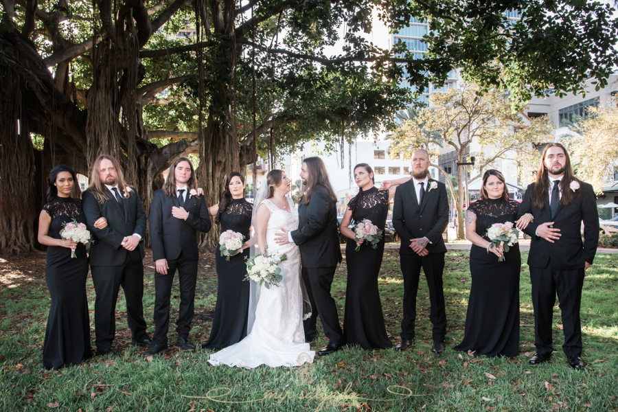 St.Pete-wedding-ceremony, Straub-park-wedding-photo, St.Pete-wedding-photographer