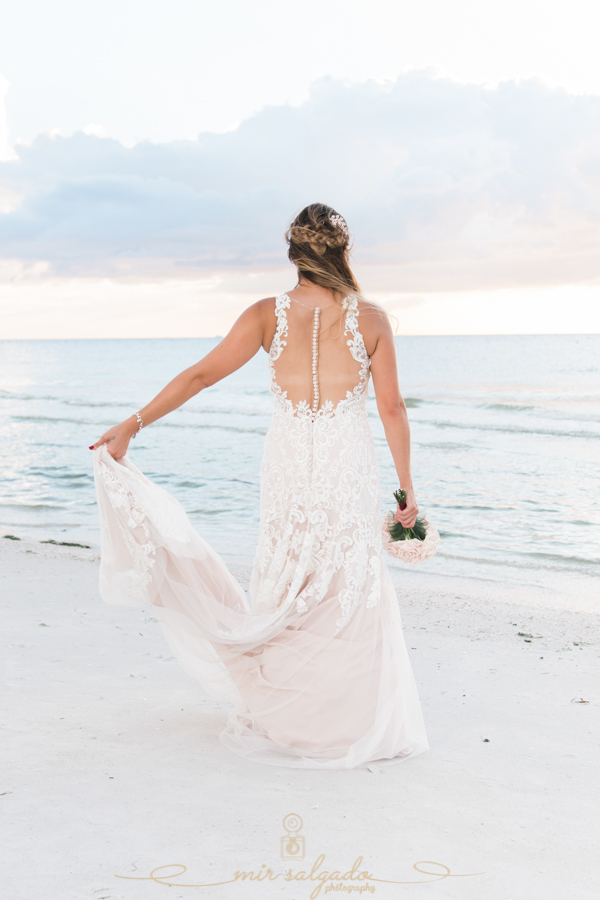 Bride-portrait, beach-wedding-photo, Tampa-photographer
