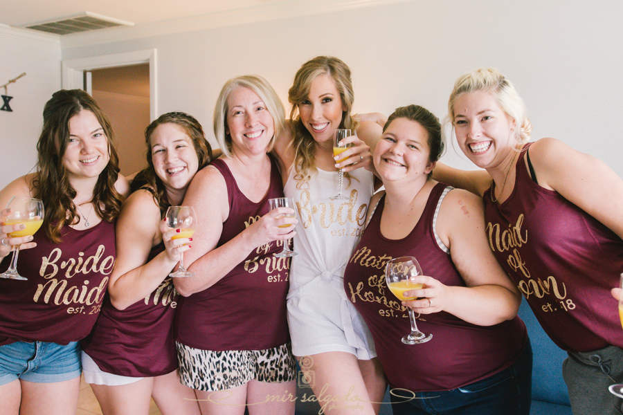 bride-and-bridesmaids-photo, getting-ready-photo, Tampa-wedding-photographer