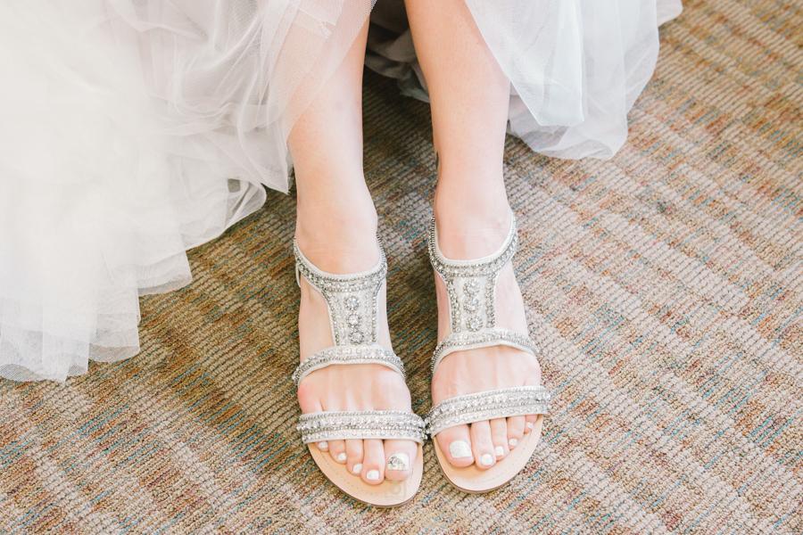 Bradenton-wedding-photographer, bride-shoes-photo
