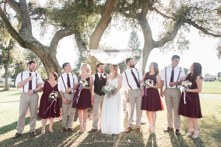 Bridal-party-photo, Tampa-wedding-photographer