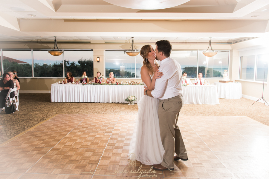 bride-and-groom-firs-dance, Tampa-wedding-photographer