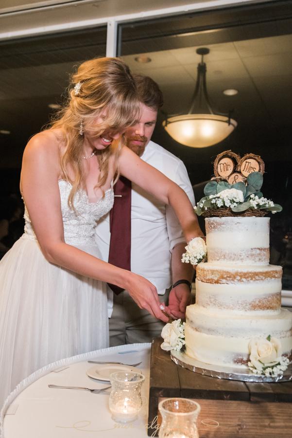 cake-cutting, Bradenton-wedding