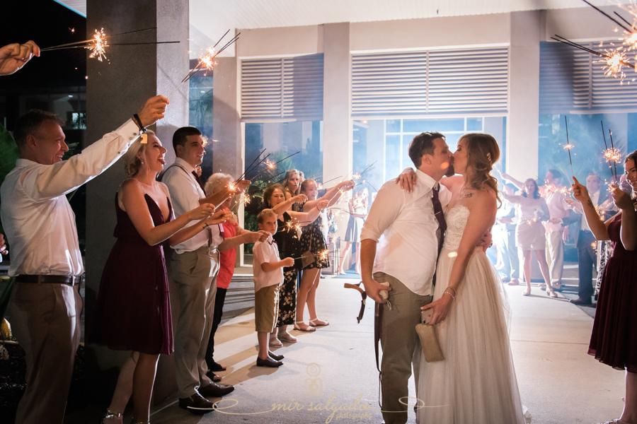 Sparkle-exit-photo, Bradenton-wedding-photographer