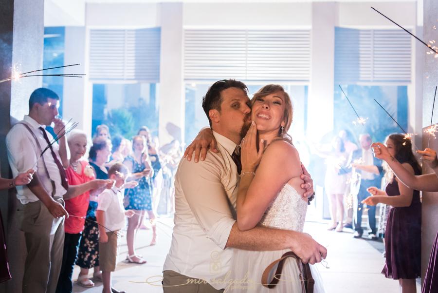 Tampa-wedding-photographer, sparkle-exit-photo