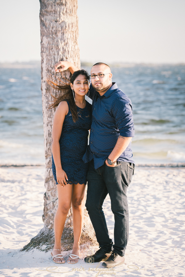 Tampa-engagement-session, Tampa-beach-engagement-session