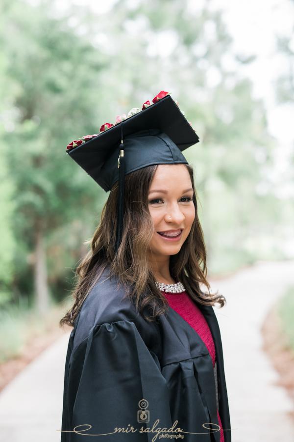 Graduation Photography, Graduation Portrait, Wesley Chapel Photographer