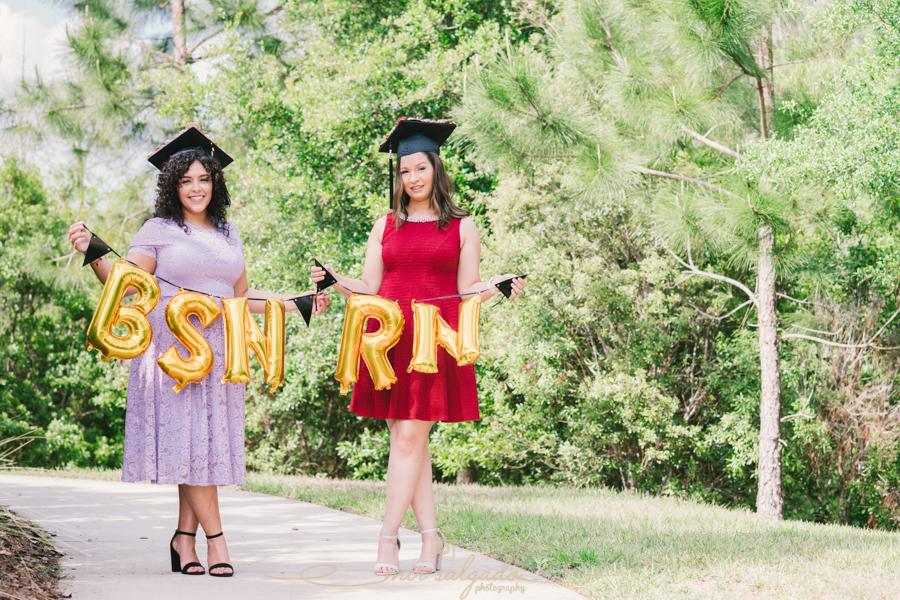 Graduation Portrait, Graduation Photo, Wesley Chapel Photographer, Wesley Chapel, Nursing School, Nursing Graduate