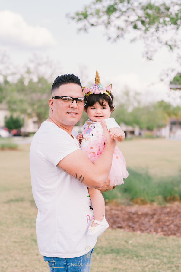 First Birthday | Sofia Smash Cake Family Session