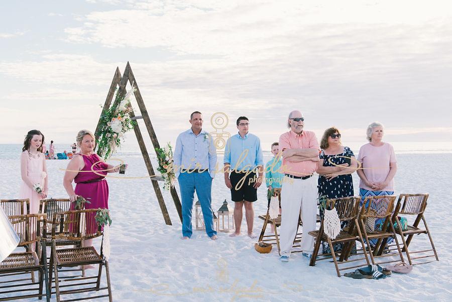 Siesta Key, Sarasota, Florida Beach Boho Wedding | Carrie & Mike