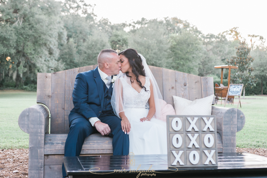 Cross Creek Ranch - Rustic Wedding- Dover, Florida | Giselle and Dino