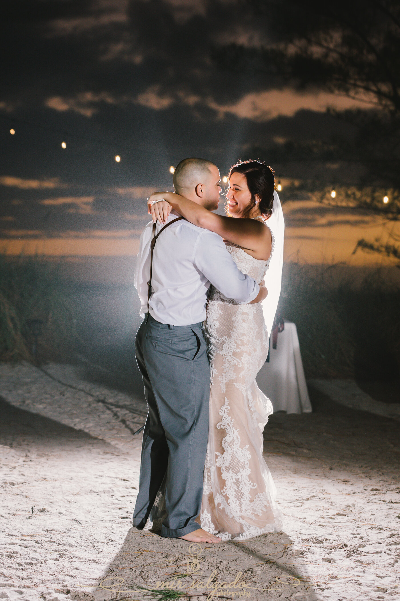 Sunset Beach, Treasure Island, Florida Beach Wedding | Beatriz and Leo
