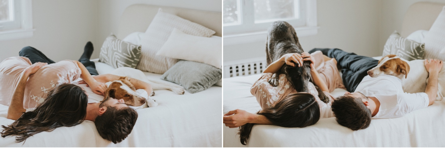 Hudson Valley Wedding Photographer, In Home Engagement Session, Albany Engagement Session, Hudson Valley Engagement Session, Upstate NY Engagement Session, Engagement Session with dogs