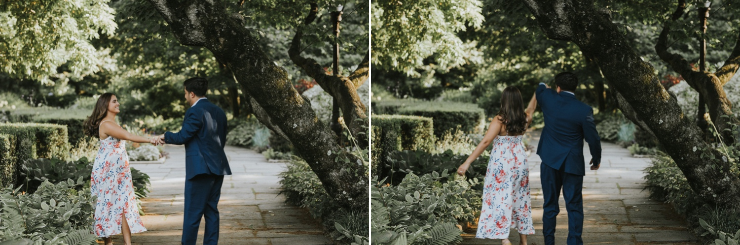 Central Park Conservatory Garden, Central Park Engagement Session, Hudson Valley Wedding Photographer, NYC Engagement Session