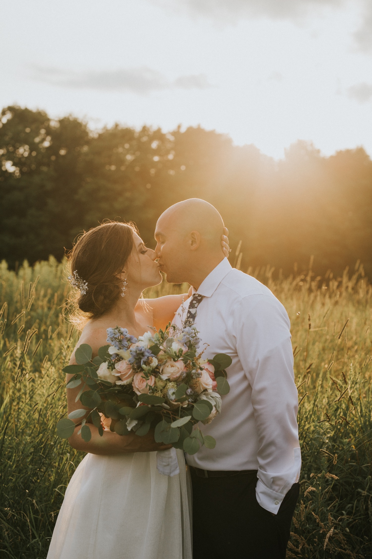 Wedding Invitations, Fiddle Lakes Farm, Fiddle Lakes Wedding, Hudson Valley Wedding Photographer, New York Wedding Photographer, Bridal PArty, Sunset Photos