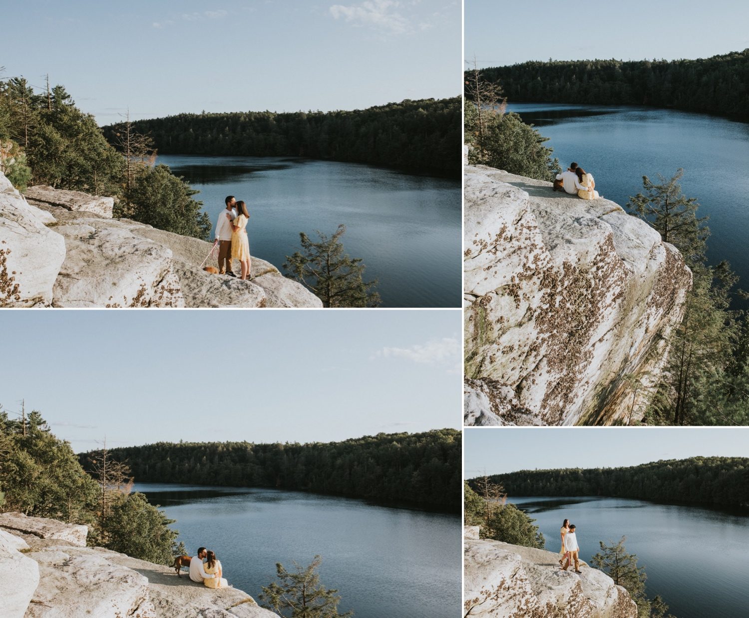 Hudson Valley Wedding Photographer, Minnewaska State Park, Minnewaska Engagement Session, Minnewaska State Park Engagement Session, New York Engagement Session, Adventure Engagement Session