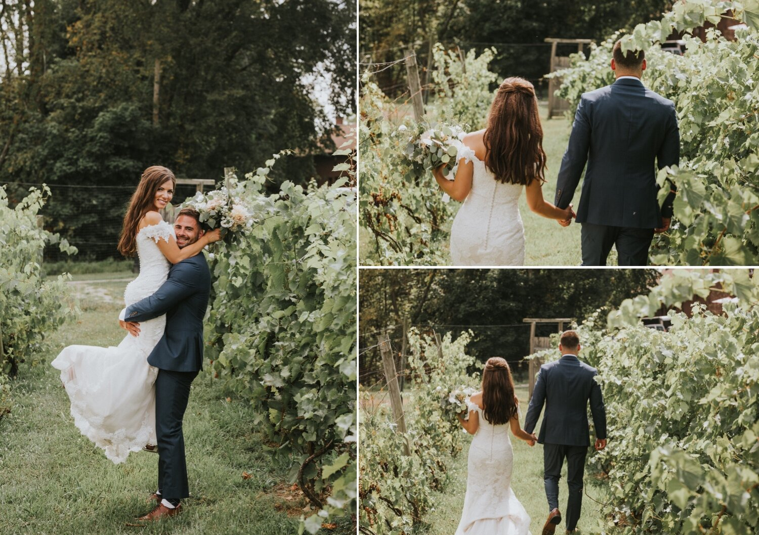 Hudson Valley Wedding Photographer, Brotherhood Winery, Brotherhood Winery Wedding, Justin Alexander Dress, Vassar College Chapel