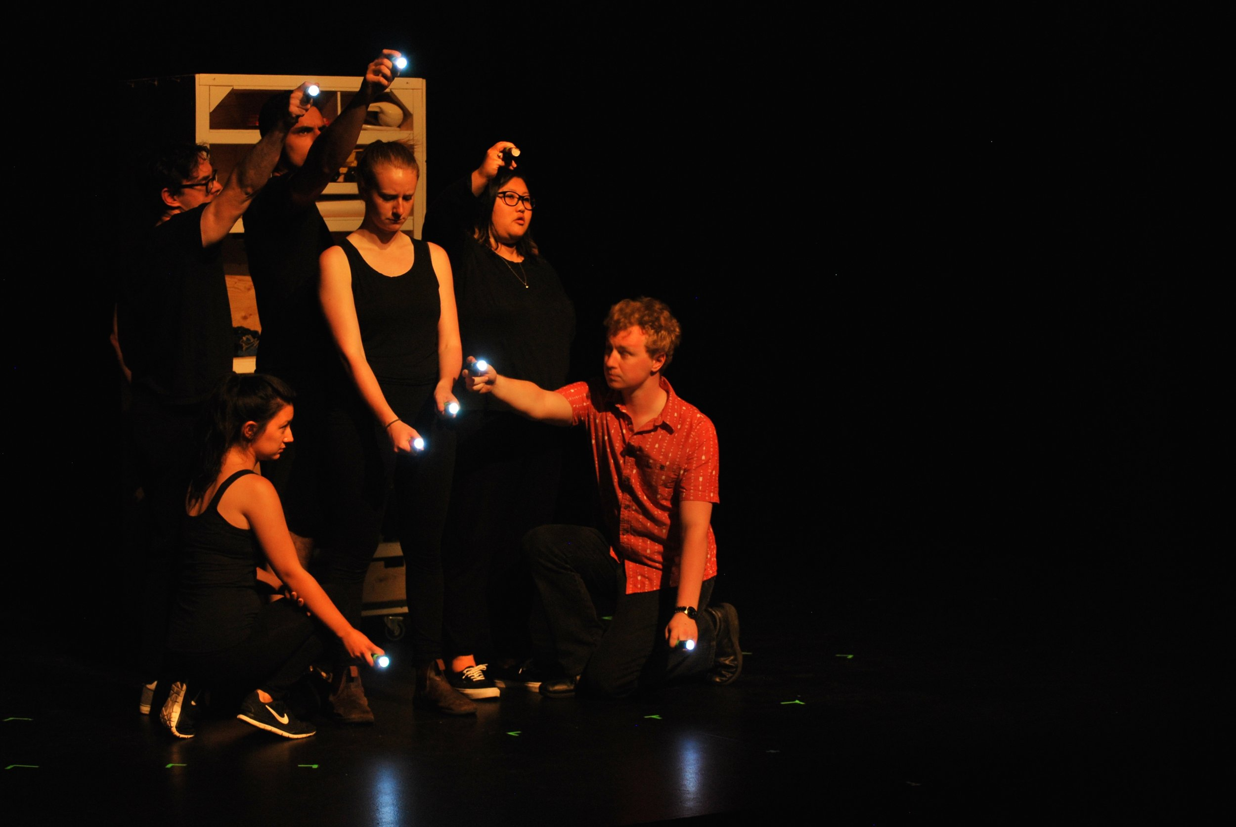 """""""Through 16 short plays, the talents of this troupe are apparent."""""""