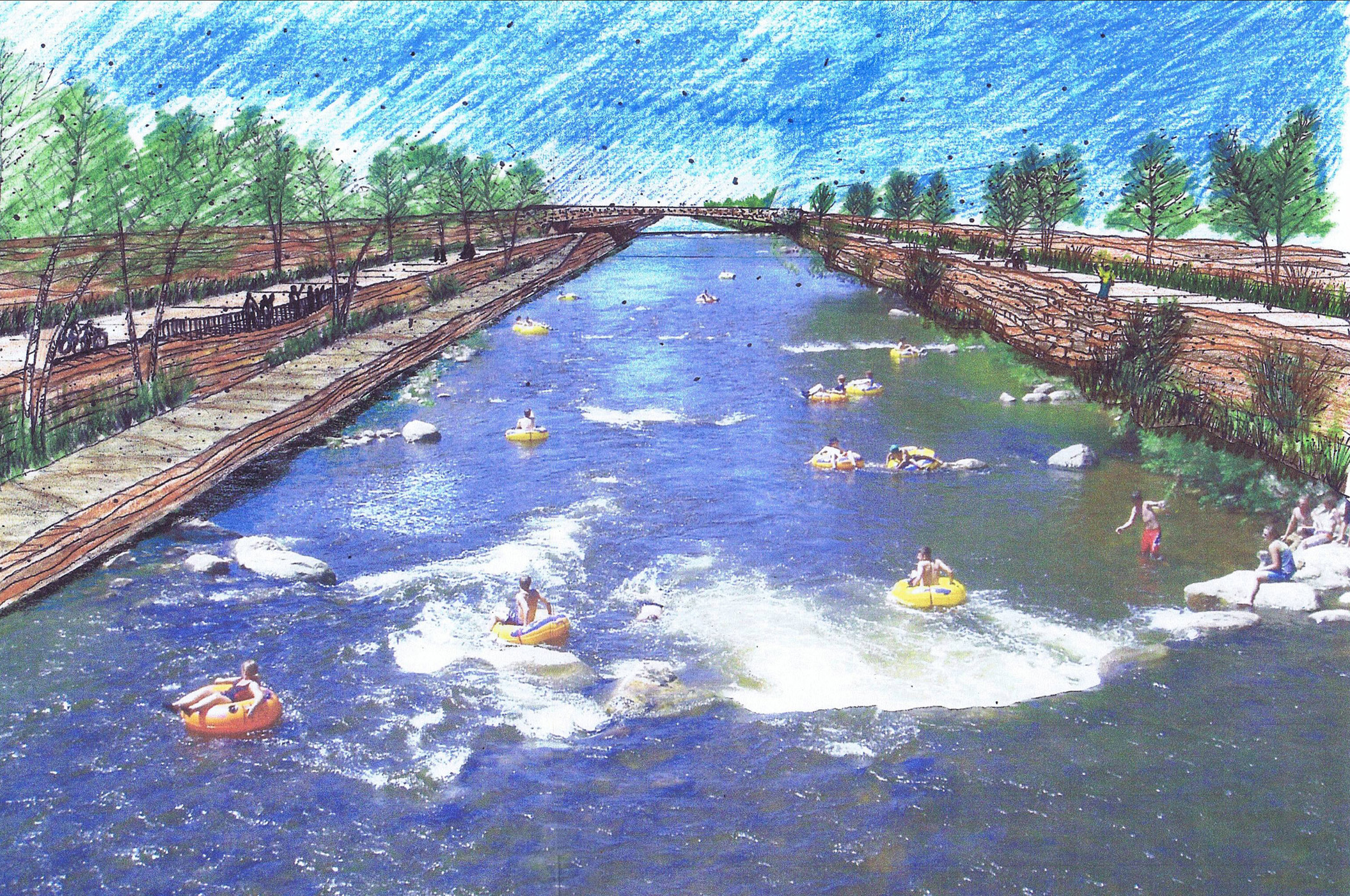 The River South Greenway Master Plan