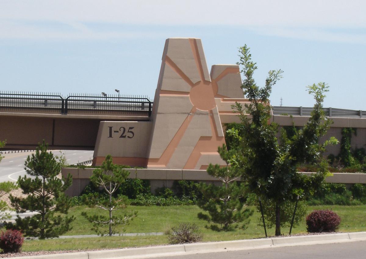 Interstate I-25 / U.S. 50/47 Interchange