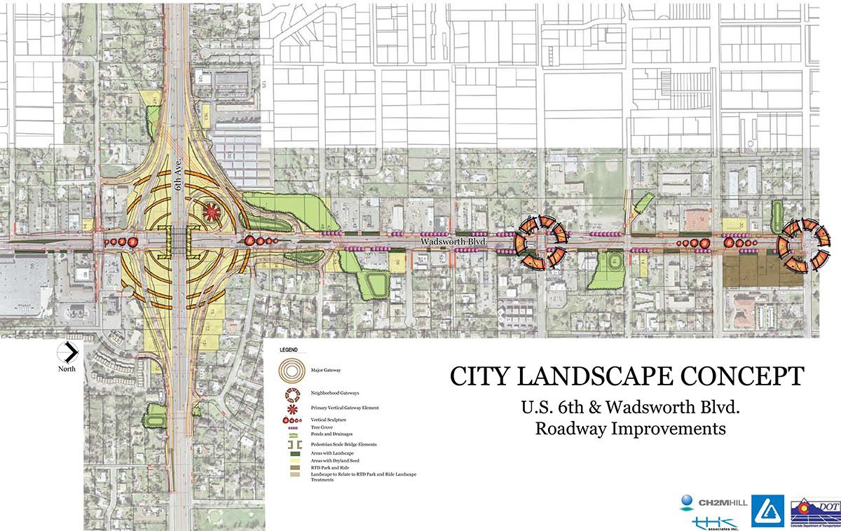 U.S. 6 /Wadsworth Boulevard Interchange