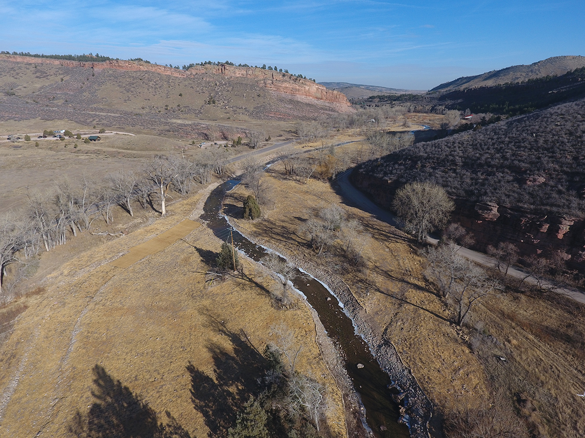 South St. Vrain Creek Restoration at Hall Ranch