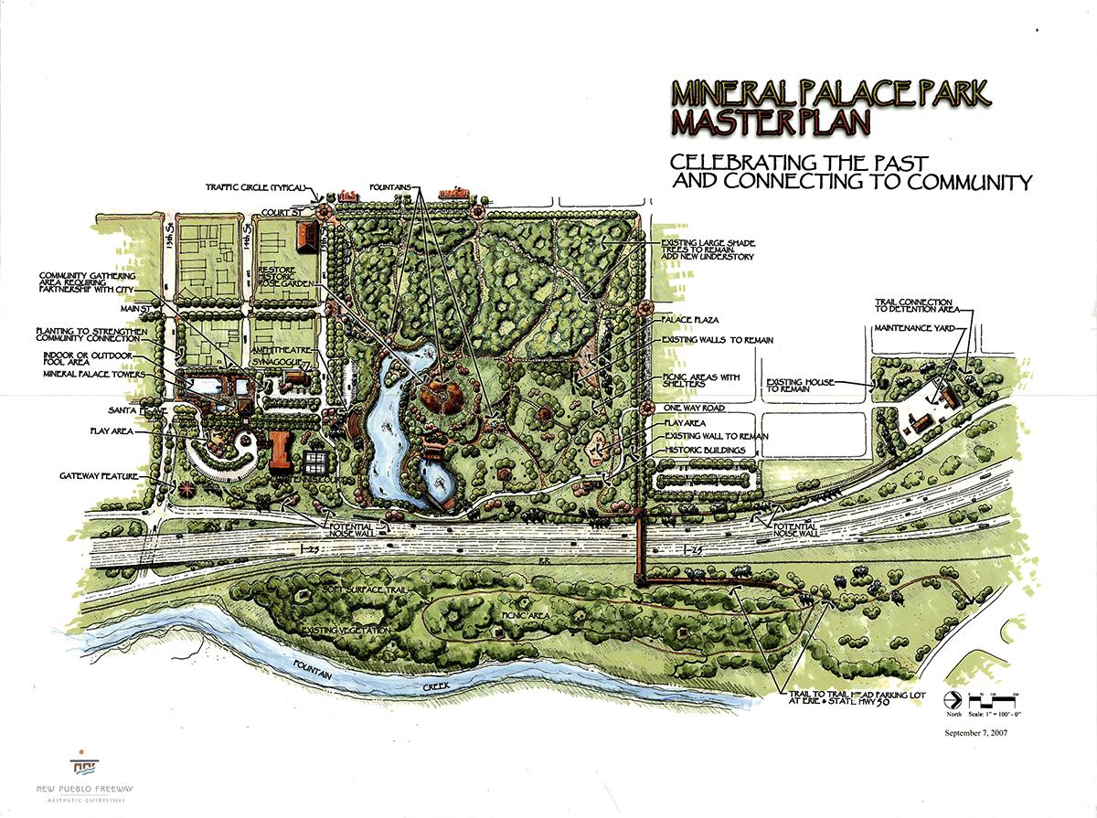 Mineral Palace Park Master Plan