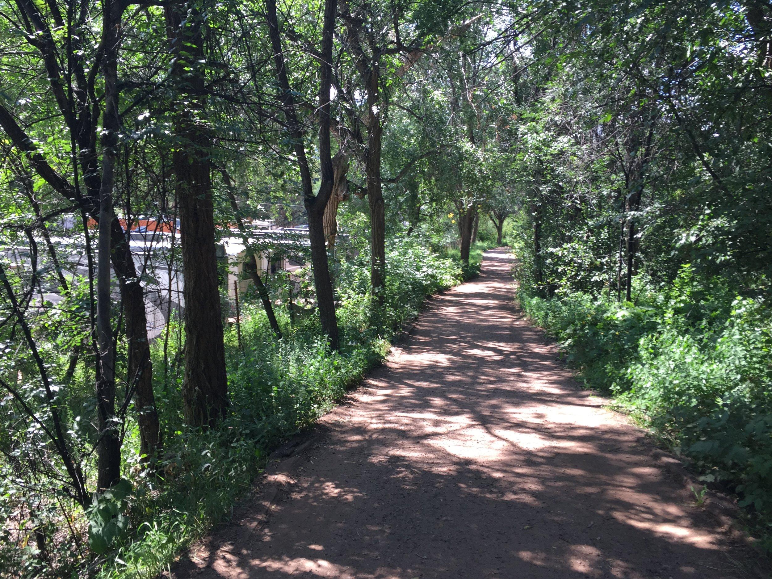Manitou Creek Walk Master Plan and Trail Design
