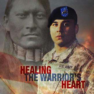Healing the Warrors Heart DVD cover art
