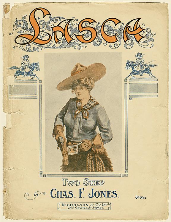 """Lasca"" poem book cover. Western Folklife Center Collection."
