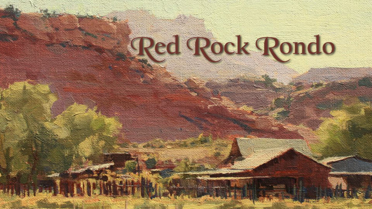 Red Rock Rondo cover painting by Kate Starling.
