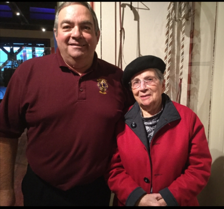 Mark Paris and Mary Jean Paris discussed life in America in their StoryCorps interview.