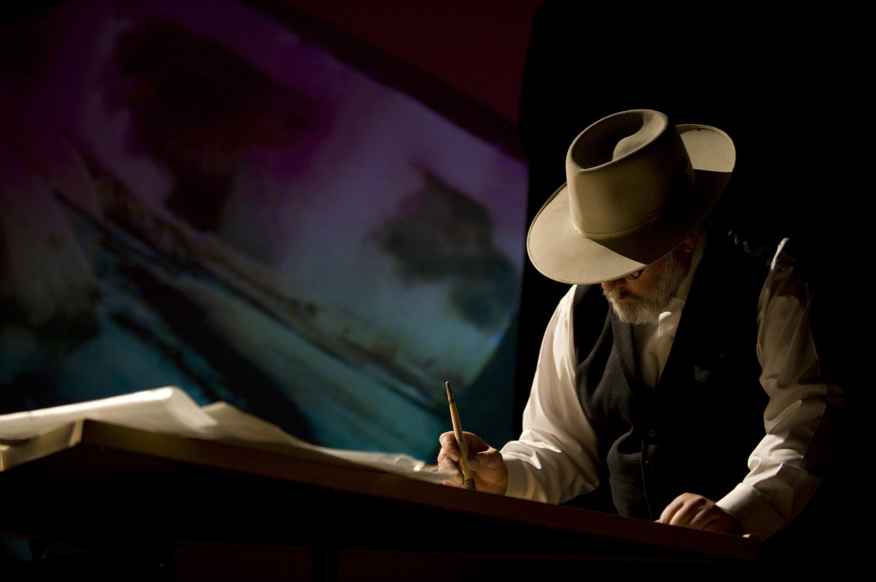 William Matthews, painting, photo by Jessica Brandi Lifland