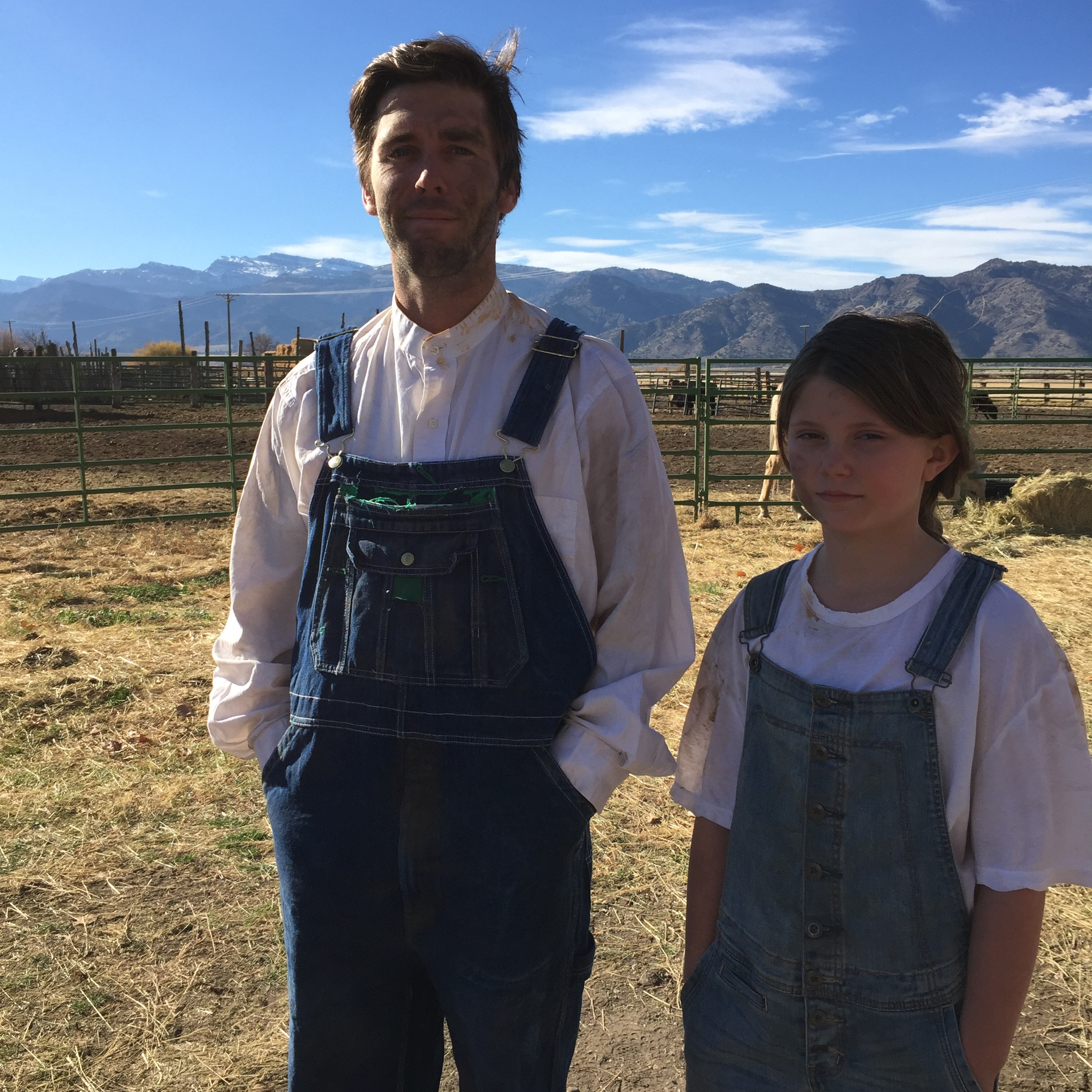The actors: Keaton and Rylee