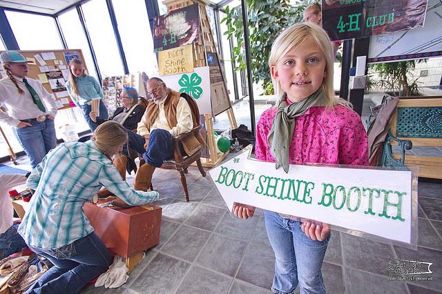 4H Shoe Shine Girl by Charlie Ekburg