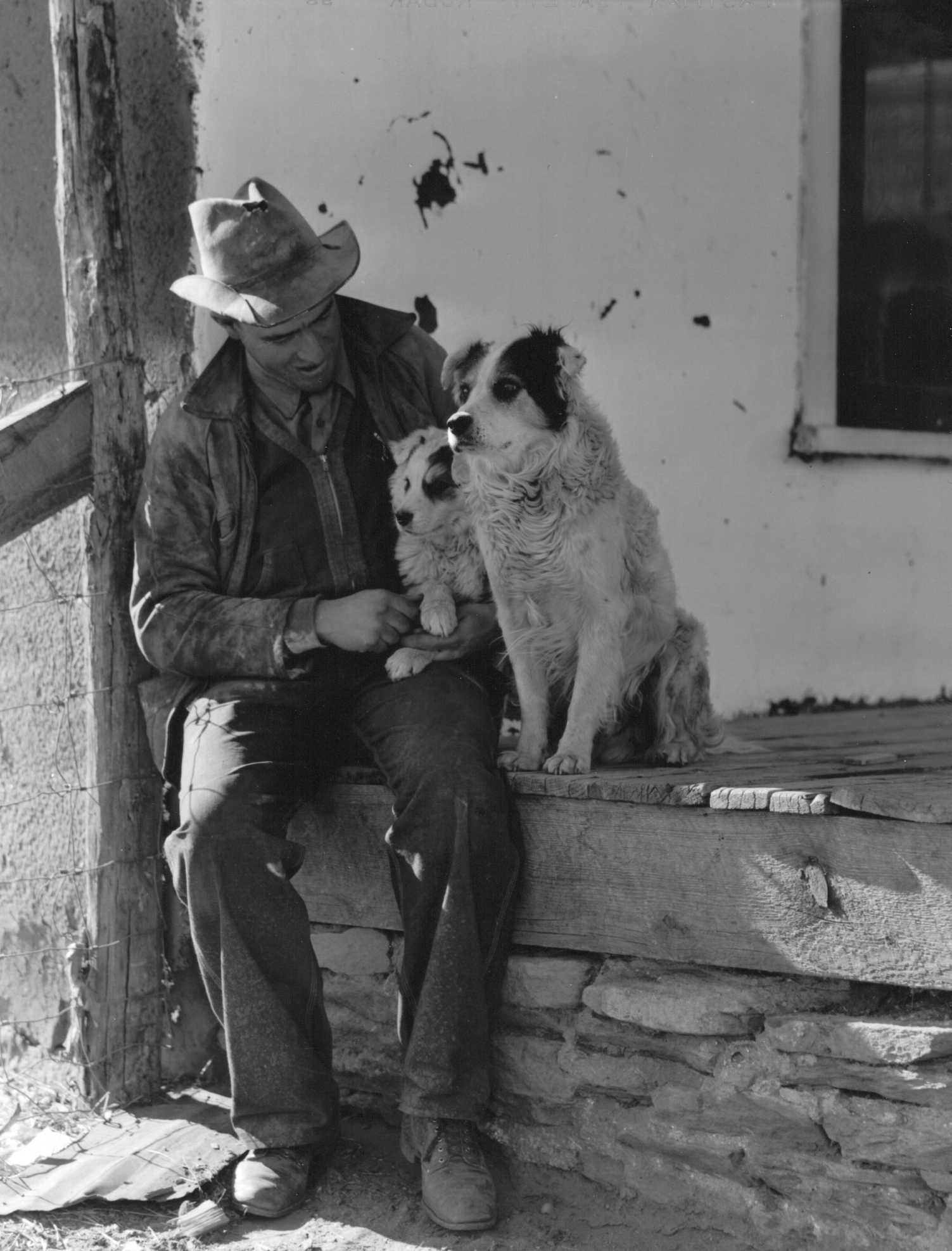 An Anglo rancher, Mora (vicinity), New Mexico. John Collier, January 1943.