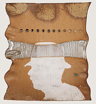 Dennis Parks Self Portrait: purchase for $2,300 Stoneware (1989)