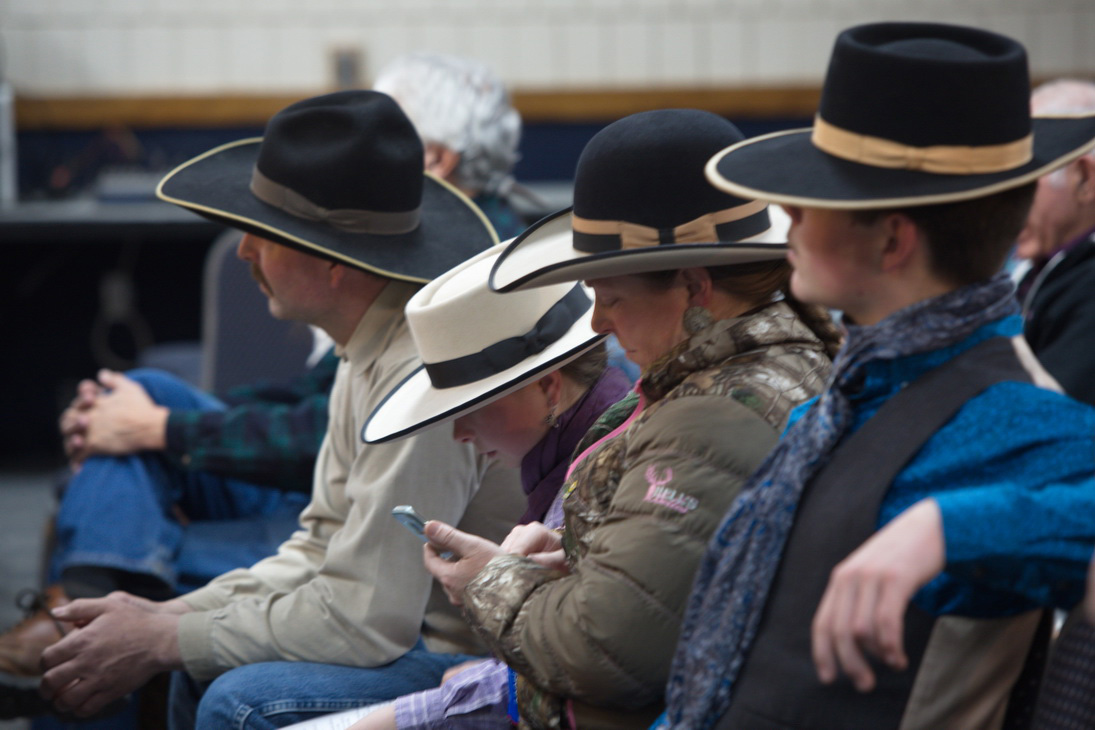 An Elko County ranch family…with hats.