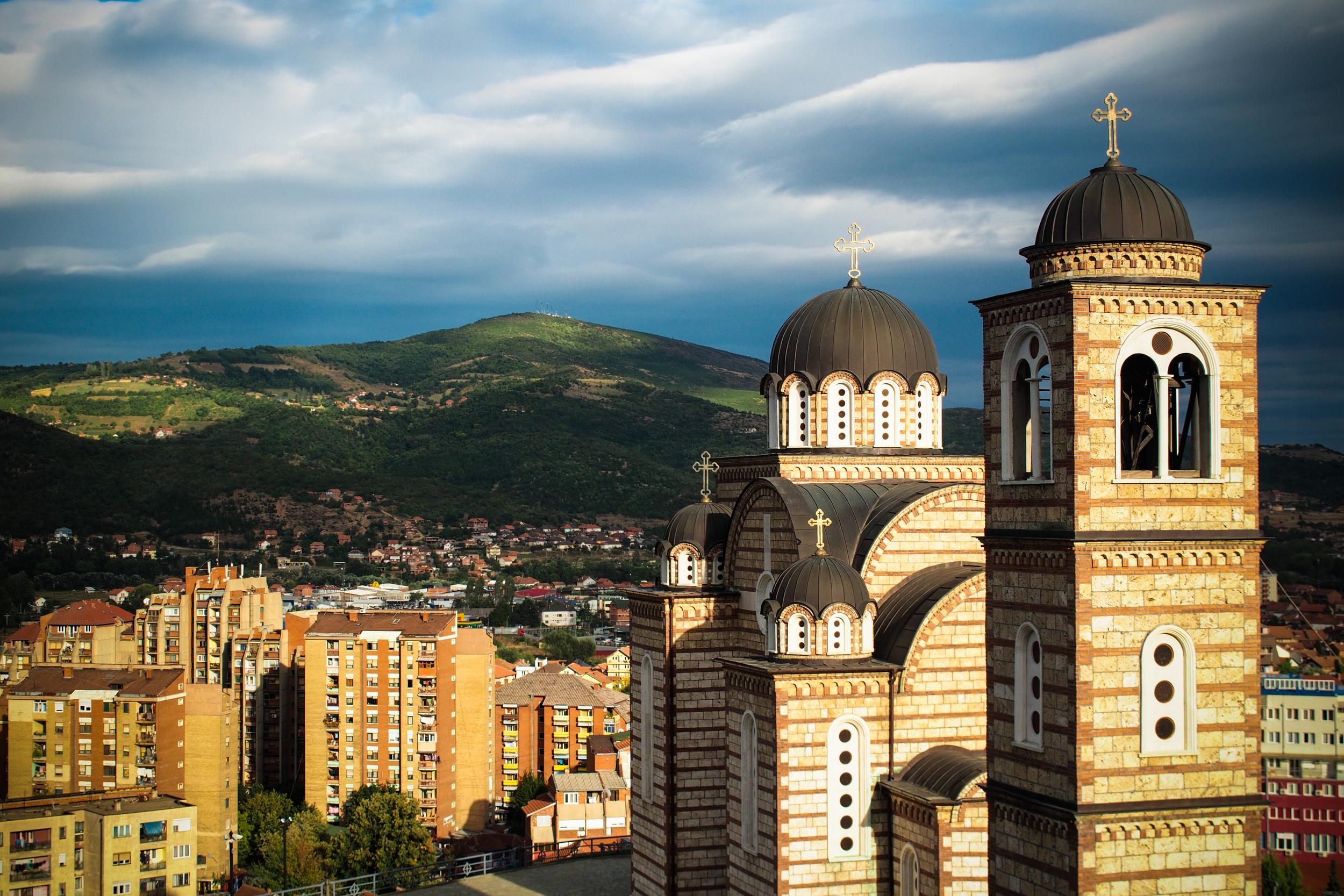 The Kisha Ortodokse Shën Dhimitri Church in Zara, Mitrovisce