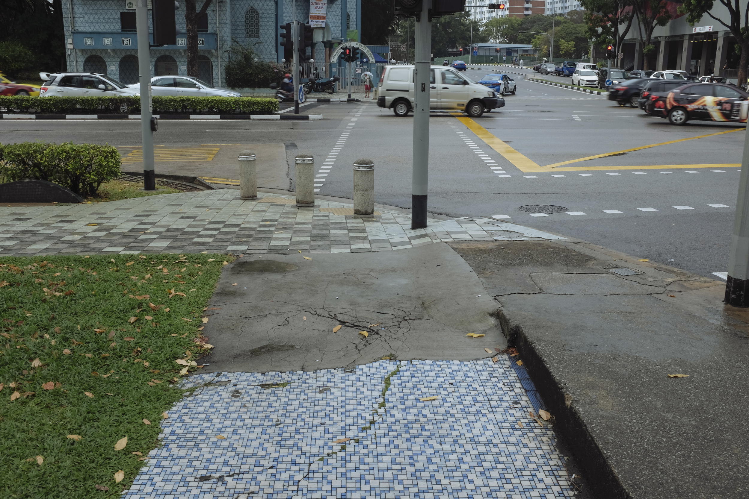 Junction of Victoria Street and Jalan Sultan
