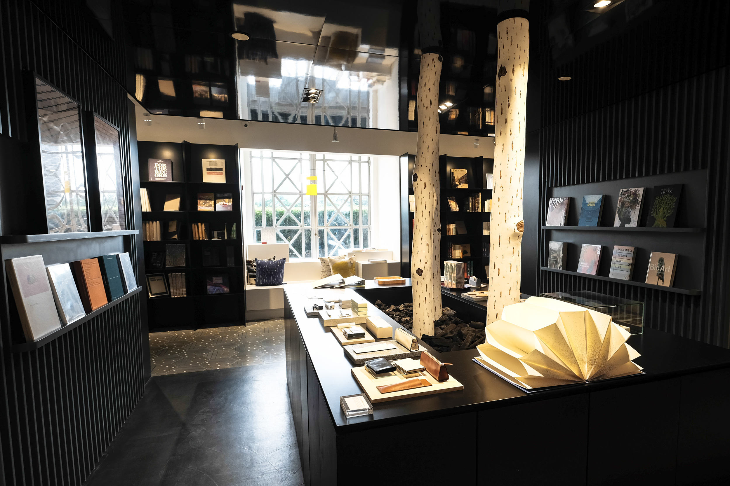 The gallery shop is a few shops in one, featuring mainly local brands and designers.
