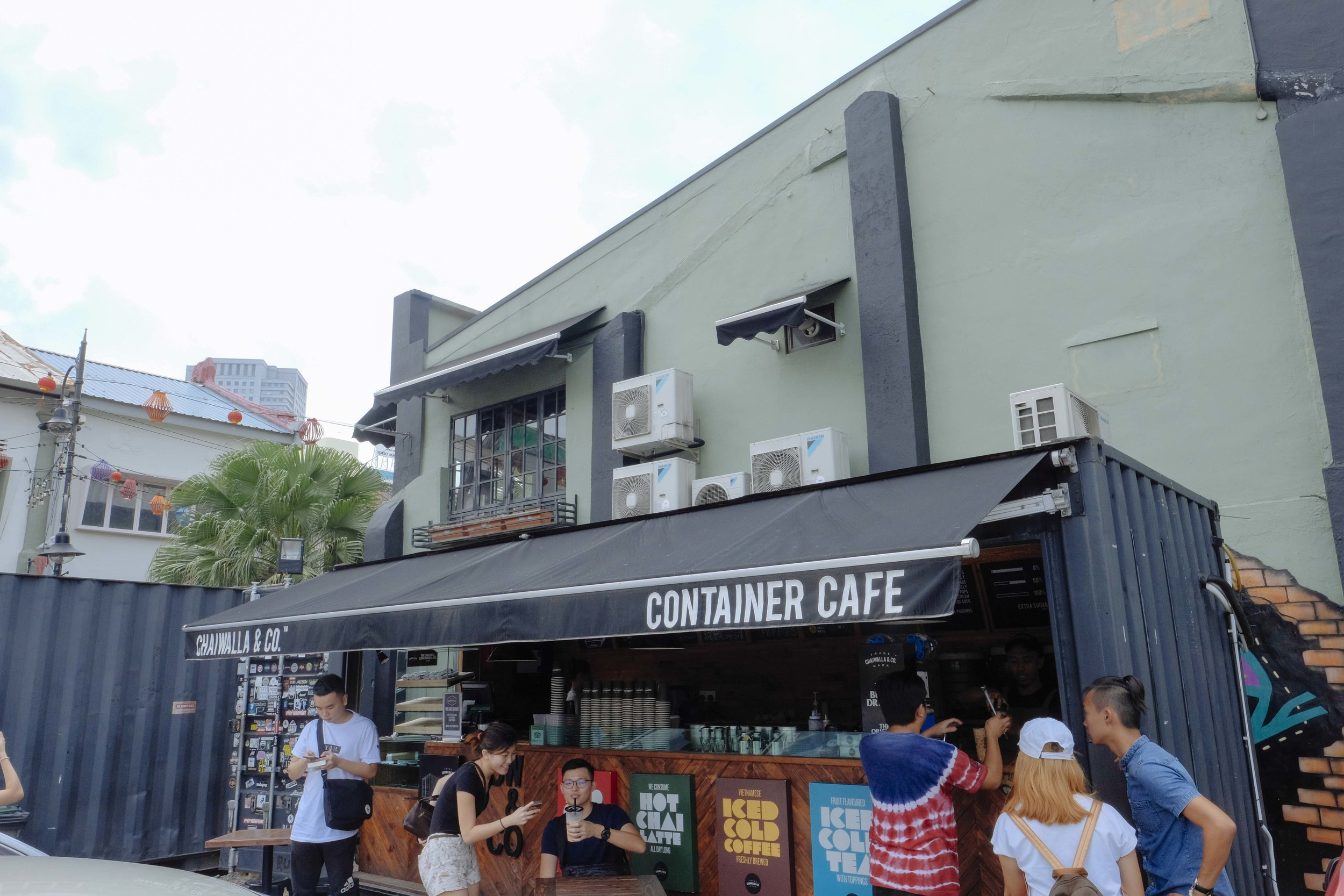 The Chaiwalla Container Cafe