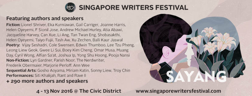 Image: Singapore Writers Festival Facebook page