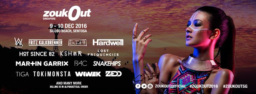 Image: ZoukOut Facebook page