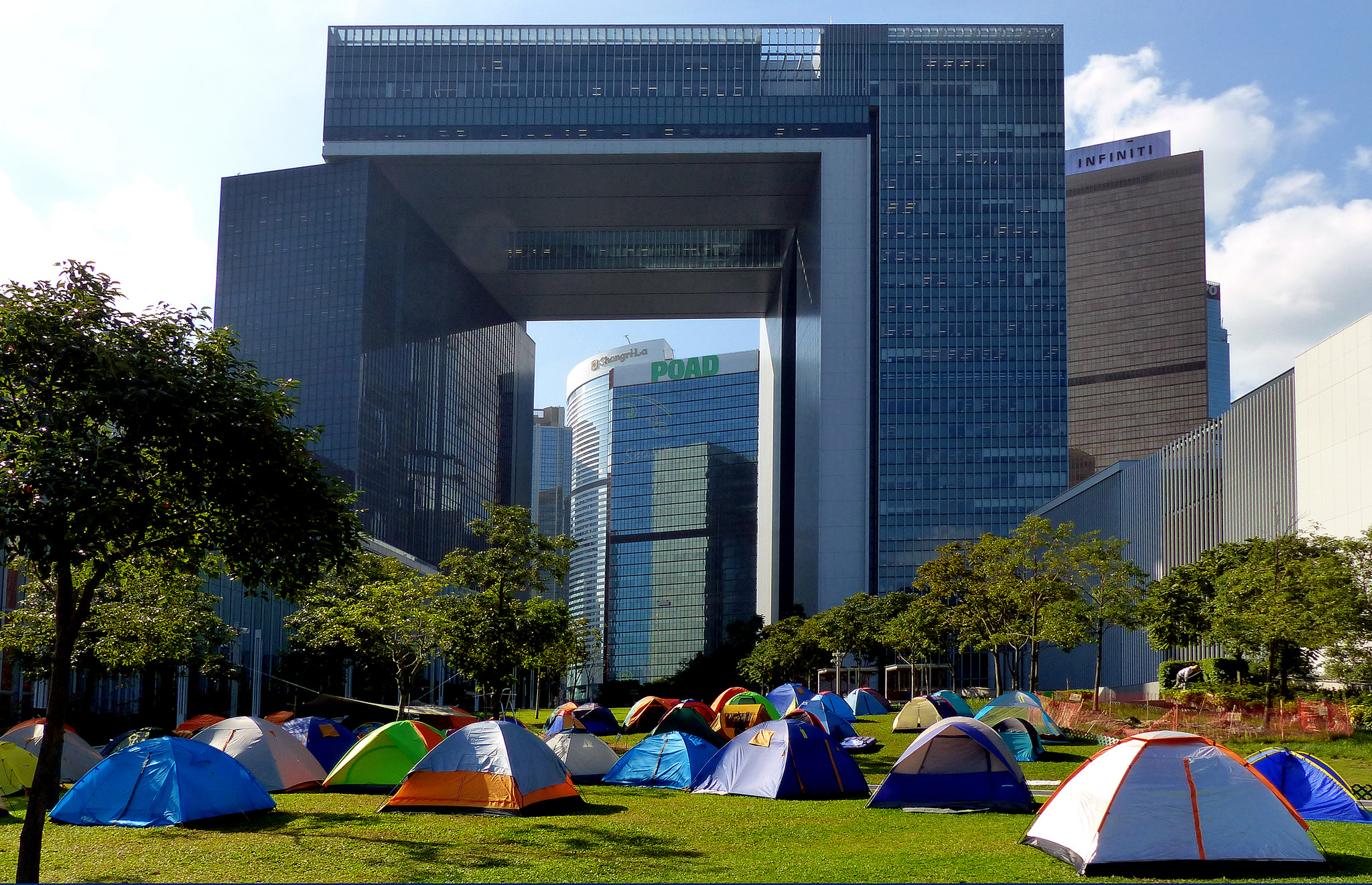Photo credit: Bernard Spragg, Occupy Central, 2014, CC2.0